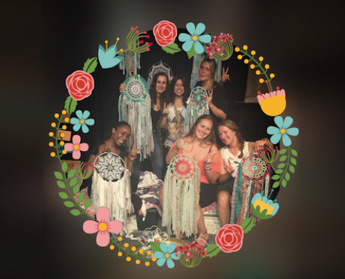 Bohemian Dreamcatcher workshops
