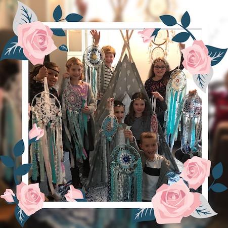 dreamcatcher workshops kids party